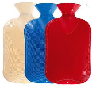 Wärmflaschen doppel Lamellen