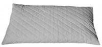 Bio Dinkelspelzkissen 40x80cm Steppware weiß