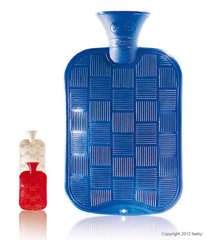 Karo Halblamellen Wärmflaschen